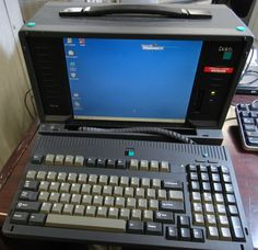 Dolch PAC 65 Network Sniffer Portable Computer.