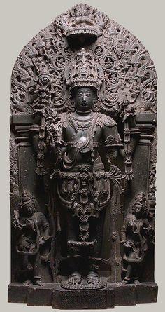 Standing Vishnu as Keshava [Karnataka (probably Belur), India] (18.41) | Heilbrunn Timeline of Art History | The Metropolitan Museum of Art #vishnu #hindu #art