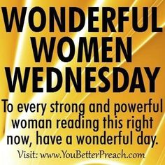 What other wonderful women will you encounter today? #bosslife #sharethelove #wonderfulwednesday