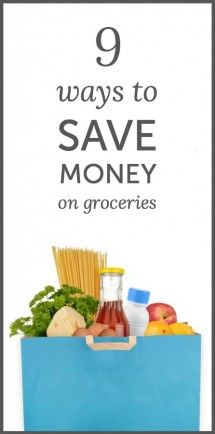 9 ways to save money on groceries