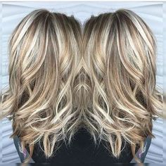 blonde highlights and lowlights - Google Search: by elma #nail