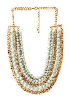 Polished Layered Necklace | FOREVER21 #Accessories