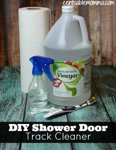 Awesome How To Clean Your Shower Door Tracks