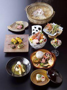 Japanese cuisine, Washoku Kaiseki 懐石料理