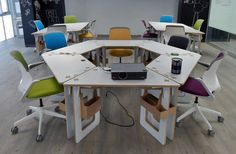OpenDesk - Studio - Most Recent Cnc Wood, Plywood, Furniture Inspiration, Drafting Desk, Wood Projects, Woodworking, Studio, Open Source, Design