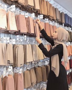 Which country are you in? It's time we bring our Hijab Wall to you! – alyssa Which country are you in? It's time we bring our Hijab Wall to you! Which country are you in? It's time we bring our Hijab Wall to you! Turban Hijab, Mode Turban, Hijab Dress, Hijab Elegante, Hijab Chic, Hijabi Girl, Girl Hijab, Islamic Fashion, Muslim Fashion