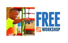 Bring your child to Home Depot on Saturday November 7th at 9:00am and help them build a Veterans Day Jet.