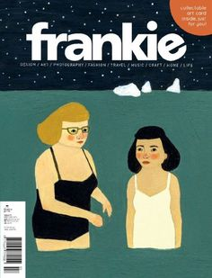 #Frankie Magazine is an Australian bi-monthly with a difference. A niche-style title with mainstream appeal filled with fashion, art, craft, music, cuteness and real-life inspiration.