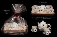 Edible Art of the Day Winner for Sunday August 19, 2012 is Nina Rogers and her Afternoon tea set.  Congrats.