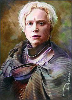 Brianna of Tarth - Game of Thrones Jaime And Brienne, Jaime Lannister, Brienne Von Tarth, Lady Brienne, Breaking Bad, Gwendolyn Christie, Children Of The Forest, Got Characters, Game Of Thrones Art
