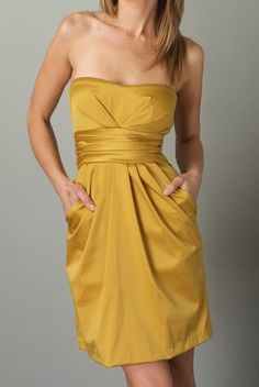 Yellow Party Dress / Wedding Heaven
