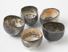 Beautiful cups by woodfirer on Flickr  Work by Priscilla Mouritzen by woodfirer on Flickr