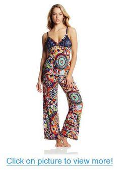 Josie by Natori Women's Hollywood Boho Pajama, Navy/Multi, Medium Nighty Night, Pajamas Women, My Style, Boho Style, Jumpsuit, Hollywood, Navy, Stuff To Buy, Dresses