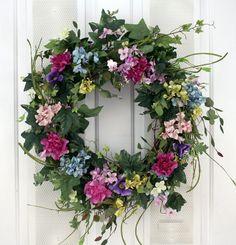 Wreaths For Door - Garden Beauty Living In Color Decorative Door Wreath, $79.99 (http://www.wreathsfordoor.com/garden-beauty-living-in-color-decorative-door-wreath/)