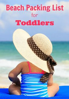 Heading to the beach/vacation with your toddler or preschooler? Use this handy packing list to make sure you don't forget any of the essentials for your trip! Such a helpful travel guide! Toddler Travel, Travel With Kids, Family Travel, Toddler Vacation, Baby Travel, Florida Vacation, Vacation Trips, Family Vacations, Vacation Ideas