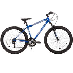 "26"" Huffy Men's Fortress 3.0 Mid-Fat Plus Tire Mountain Bike, Blue Review"