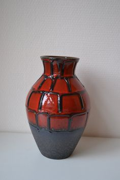 W. Germany Carstens vase. by Vaastastischvintage on Etsy