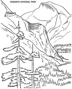 Yellowstone National Park Geyser Coloring Page Yellowstone