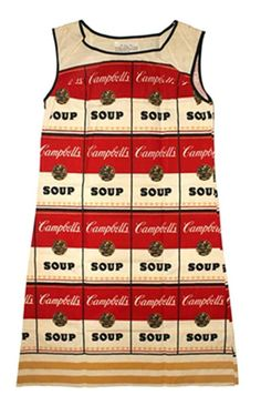 Andy Warhol, The Souper Dress, 1965, michael lisi / contemporary art