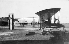 FRENCH AIRCRAFT OF THE FIRST WORLD WAR 1914 - Voisin Biplane, two-seat reconnaissance aircraft or night bomber.1918