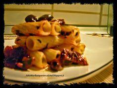 Cannucciotti con Pomodori Secchi e Olive Taggiasche ~ Fabio Barbato Personal Chef
