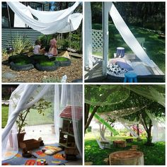 small outdoor playspace for daycare | Magical play spaces that beckon children to come play can be defined ...