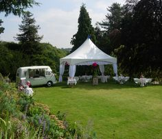Hire a stunning VW ice cream van for a perfect summer wedding Ice Cream Van, Summer Wedding, Gazebo, Outdoor Structures, Vw, Kiosk, Pavilion, Cabana