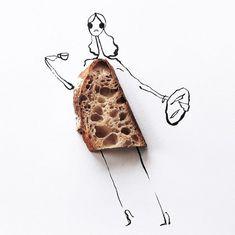 Fashion Food Illustration | Gretchen Röehrs