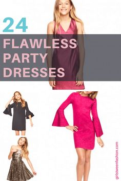 Our Editor's top picks for Girls Party, Christmas and Special Occasion Dresses! Christmas Dress For Teens, Girls Holiday Dresses, Dresses For Teens, Outfits For Teens, Cool Outfits, Girls Dresses, Summer Dresses, Tween Fashion, Girl Fashion