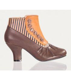 Belldandy.fr: bottes rockabilly, bottes pinup, bottines vintage, bottines rétro, bottes gothique, bottes victorien, bottes glam rock