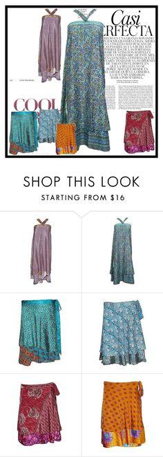 Boho Hippie Wrap Skirts by baydeals on Polyvore featuring Whiteley, Bohemian, gypsy, wrapskirt and Womens  http://stores.ebay.com/mogulgallery/Silk-Sari-Skirts-/_i.html?_fsub=761673819&_sid=3781319&_trksid=p4634.c0.m322