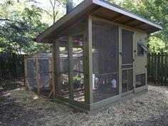 Backyard Chicken Coop Ideas --> http://www.hgtvgardens.com/chickens/backyard-chicken-coop-ideas?soc=pinterest