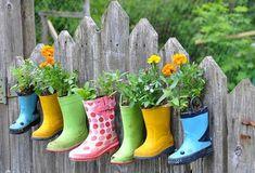 jardinagem decoração reciclagem
