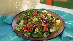 Tomato and Avocado Salad Breakfast Options, Avocado Salad, Balanced Diet, Guacamole, Menu, Lunch, Snacks, Ethnic Recipes, Food