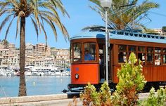 1 day excursion with the Sóller train....Majorca, Spain