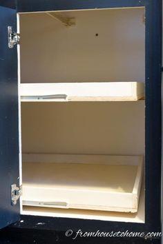 DIY Blind Corner Cabinet Fix Kitchen Best Of Saving The