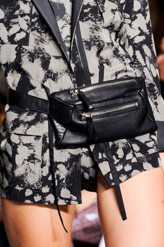 fanny pack by dkny...I want you. <3 fanny packs.