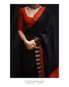 48 Ideas Womens Clothing Boutique Ideas Black For 2019 Saree Blouse Patterns, Sari Blouse Designs, Trendy Sarees, Stylish Sarees, Modern Saree, Stylish Blouse Design, Saree Trends, Dress Indian Style, Indian Dresses