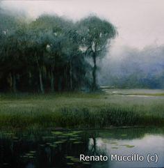"Ghosts of October - Study - Renato Muccillo 5"" x 5"""