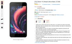 Buy HTC Desire 10 Lifestyle online in India on Amazon. Check out the current lowest price for HTC Desire 10 Lifestyle, Full specs and Features.