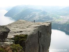 "It's on my ""Bucket List"" to return to Norway someday to hike up to ""Pulpit Rock"" near Stavanger, Norway"