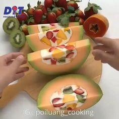 """3,079 Beğenme, 58 Yorum - Instagram'da @efsane_mutfaklar: """"@efsane_mutfaklar Ayy buna bayildim ben😍😍 . . @poiluang_cooking - #regrann (via #appskottage…"""" Honeydew, The Wiz, Watermelon, Sushi, Instagram Posts, Honeydew Melon"""