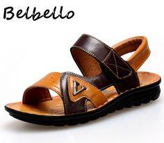 2dee53f9 Click to Buy << Belbello Boys Sandals Children Shoes Kid Flats Gladiator  Beach