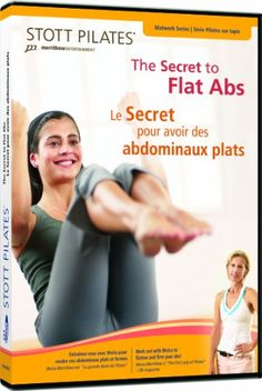 STOTT PILATES The Secret to Toned Arms Buns and Thighs EnglishFrench *** Click on the image for additional details.(This is an Amazon affiliate link and I receive a commission for the sales)