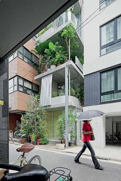 Ryue Nishizawa - 'inside-out' buidling located in Tokyo