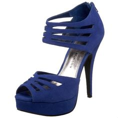 Blue Suede Sandal Pump.  I need to find places to go where I can wear this.  Yum!