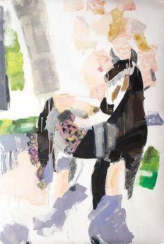Clara Simond | Caballo - Oleo + Lápiz / Horse - Oil Painting + Pencil