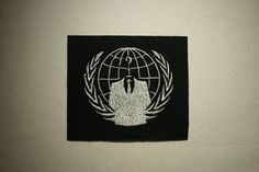 Anonymous  Embroidered IronOn SewOn Patch