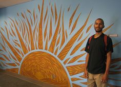 Community artists in Minnesota create work for a mental health unit.