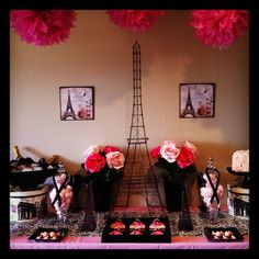 French Theme Table